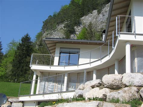 geländer terrasse gel 228 nder f 252 r terrasse und balkon aus holz edelstahl oder