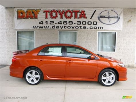 2013 lava toyota corolla s special edition 79813858 gtcarlot car color galleries
