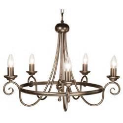 5 Light Bronze Chandelier Elstead Lighting Harlech 5 Light Bronze Chandelier At