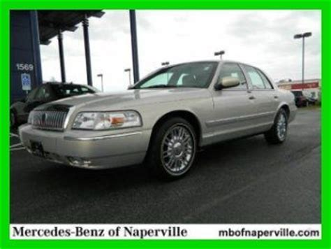 buy car manuals 2008 mercury grand marquis free book repair manuals find used 2008 mercury grand marquis ls in naperville illinois united states