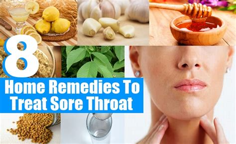 8 Remedies To Ease A Sore Throat by 8 Top Home Remedies To Treat Sore Throat Diy Martini