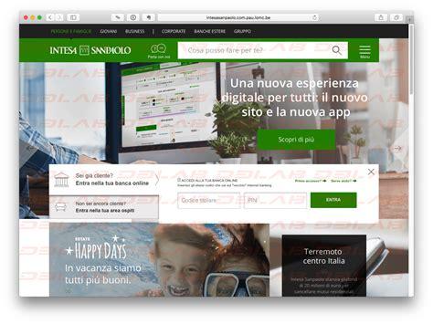 home page intesa san paolo phishing archivi pagina 2 di 6 d3lab