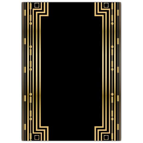 Gatsby Gold Wedding Gatefold Invitations Paperstyle P A P E R Pinterest Gatsby Wedding Great Templates