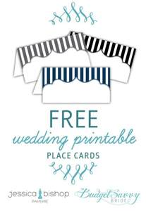 free printable place cards budget wedding printable place cards and wedding