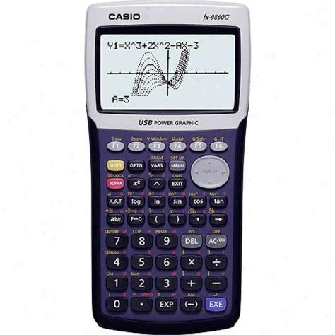 Sale Kalkulator Graphic Scientific Ilmiah Casio Fx 9860 Gii Sd graphic calculator