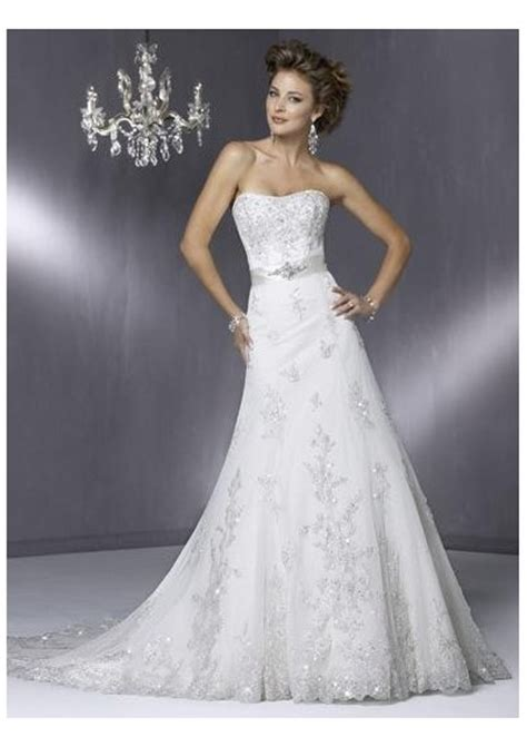 A Line Wedding Dresses – Beautiful Photos of Lace A line Wedding Dresses for