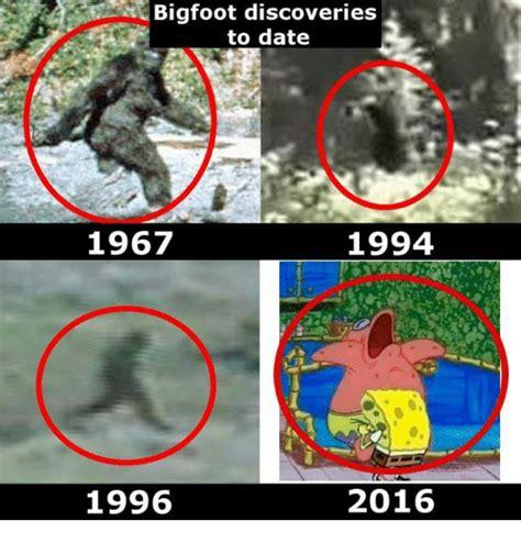 2016 1994 Bigfoot Discoveries To Date 1994 1967 2016 1996 Bigfoot