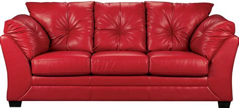 The Brick Leather Sofa by Max Faux Leather Sofa The Brick
