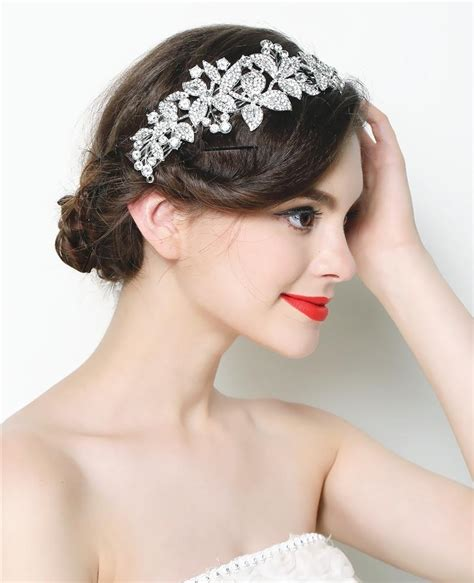 Wedding Hairstyle Accessories by Bridal Flower Hair Accessories Www Imgkid The