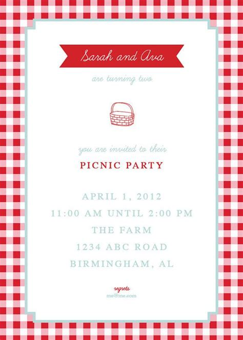 picnic invitation template 25 best ideas about picnic invitations on