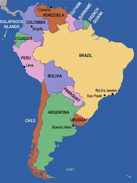map of south america de janeiro generalities of the americas major landforms of