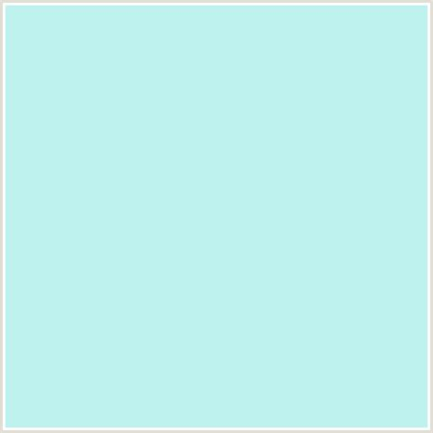 bcf1ed hex color rgb 188 241 237 aqua baby blue light blue mint tulip