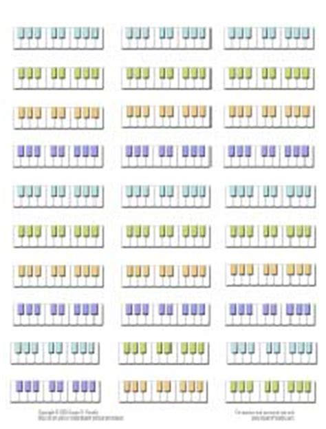 printable key labels piano keyboard labels a must have resource music