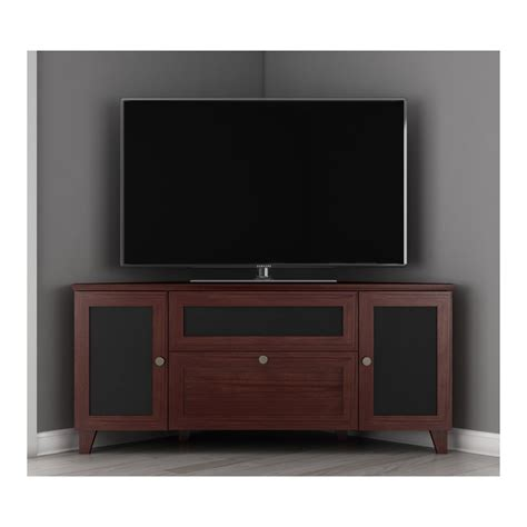 corner console furnitech ft61scc corner 61 quot wide shaker corner tv stand