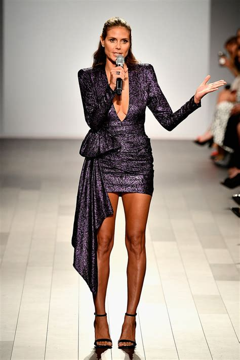 Dress Heidy heidi klum mini dress mini dress lookbook stylebistro