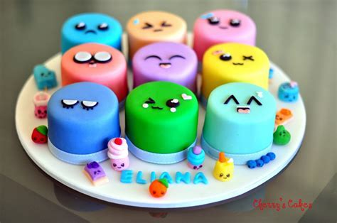Cute Food With Faces   cute food   Pinterest   Mini cakes