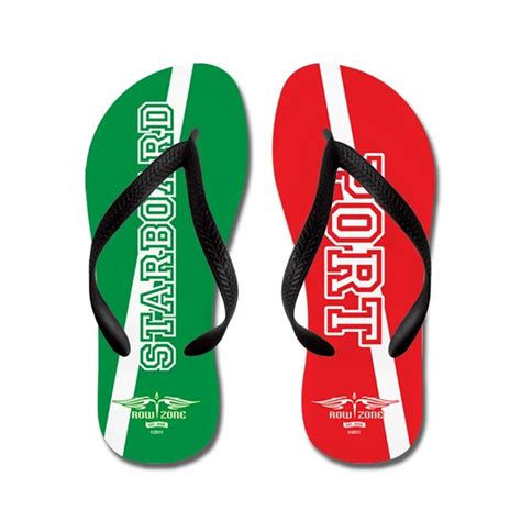 port and starboard colors starboard port flip flops by rowzone