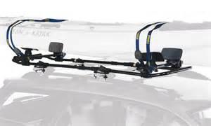 thule 887xt slipstream xt kayak roof rack