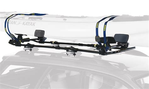 thule 887xt slipstream xt kayak roof rack