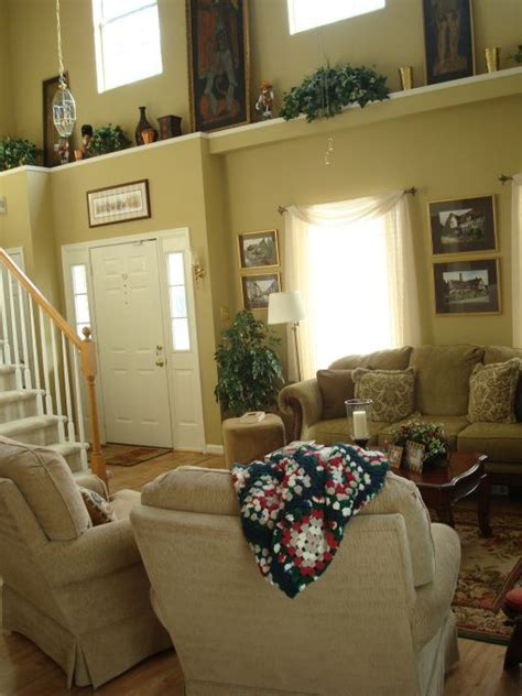 Living Room Decor High Ceilings Decorating Ledges High Ceilings Ledge In The Living Room
