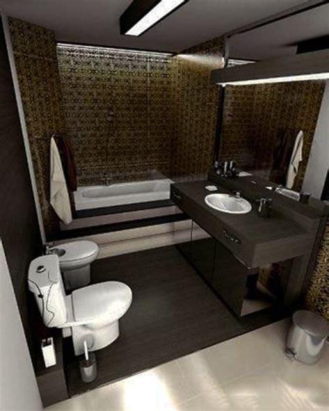 small dark bathroom ideas افكار وتصميمات ديكورات حمامات صغيرة المساحة بالصور