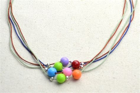 jewelry ideas to make diy necklace ideas how to make a string bead necklace