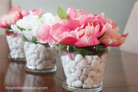 Inexpensive Flower Vases by Dollar Store Flower Vase Centerpieces How To Nest For Less