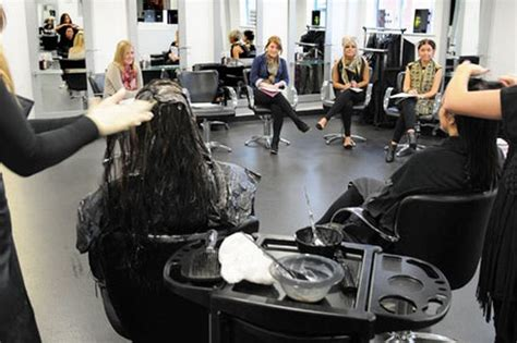 contemporary hair salon more opting for hairdressing career gazette