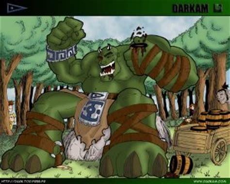 the ogre biography of a mountain and the dramatic story of the ascent books who is darkam onikaiju the troll ogre darkam