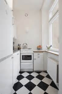 small kitchen flooring ideas clean white small apartment interior design with