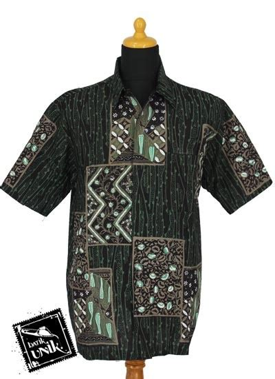 kemeja katun primis baju batik kemeja katun primis motif cap abstrak modern