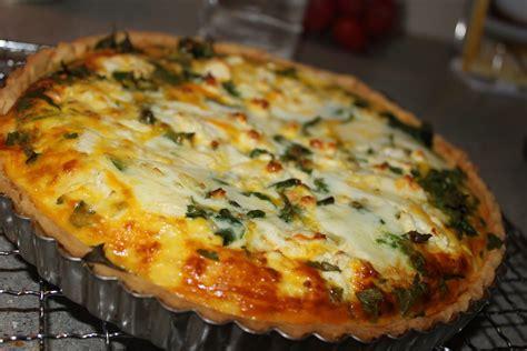 spinach feta quiche sew delicious