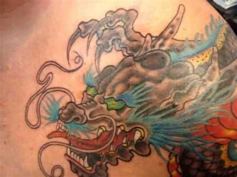 Dragon Tattoo Patong | ra decorate tattoo patong phuket thailand dragon style