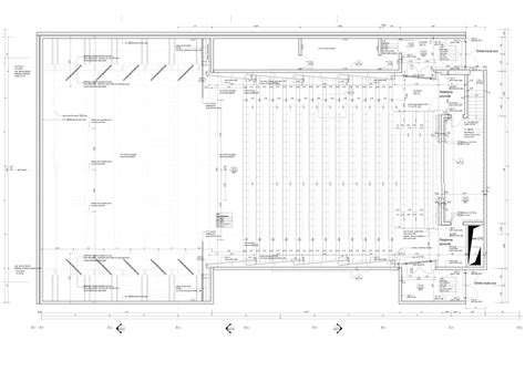 architecture photography auditorium floor plan gallery of in progress cite des arts et de la culture