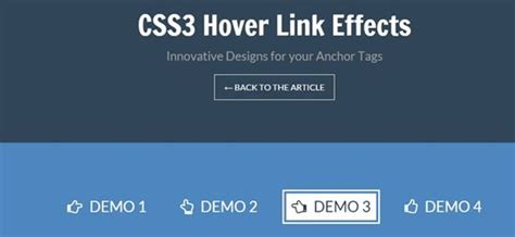 css3 hover link effects designmodo 15 tutorials of css3 hover effects free download