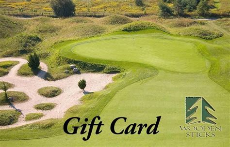 Golf Gift Cards - golf gift card wooden sticks uxbridge