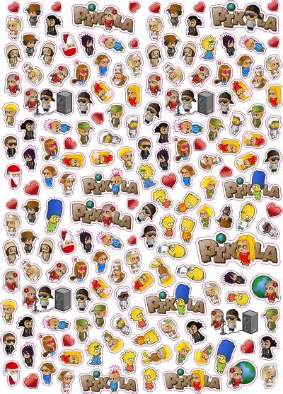 Transparent Collage Stickers
