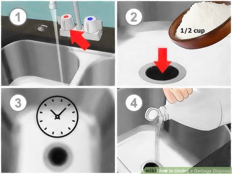 kitchen sink garbage disposal clogged how to clear a clogged kitchen sink with garbage disposal