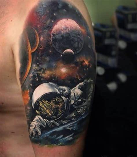 space tattoo sleeve 10 awesome universe tattoos on half sleeve