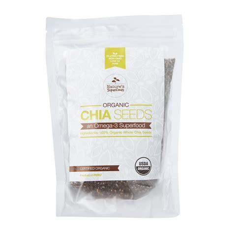 Chia Seeds Black Organic 100 300gr organic black chia seeds
