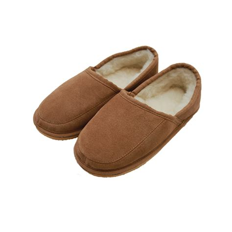 slipper and the wool lined slipper dominic the leather and sheepskin