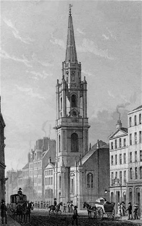 barber edinburgh royal mile engravings in modern athens the tron kirk in the high