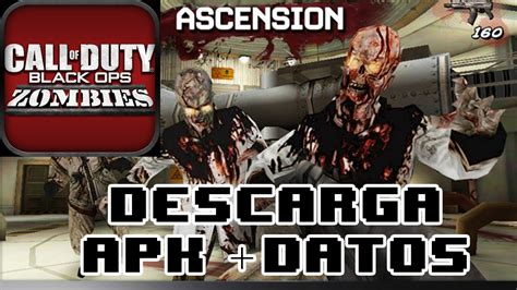 call of duty zombies mod apk descargar call of duty black ops zombies android apk datos sd