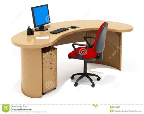 Free Office Furniture by Office Furniture Stock Illustration Image Of Easy