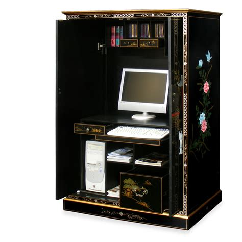 Computer Armoire Black by Computer Armoire Black Type Yvotube