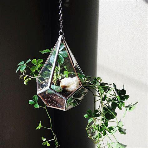 hanging glass planters hanging glass planter blue sky