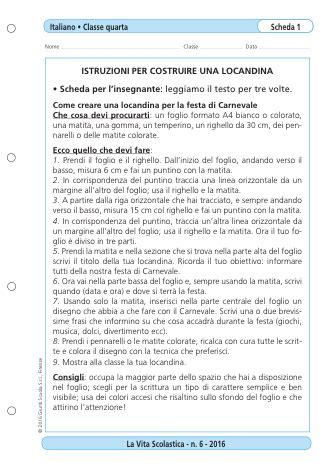 testo regolativo scuola primaria feste di carnevale e testi regolativi la vita scolastica