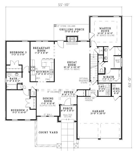 family home plans house plan 82109 at familyhomeplans