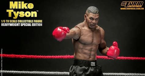 Boxer Mike Avenger Biru onesixthscalepictures toys mike tyson heavyweight special edition product news