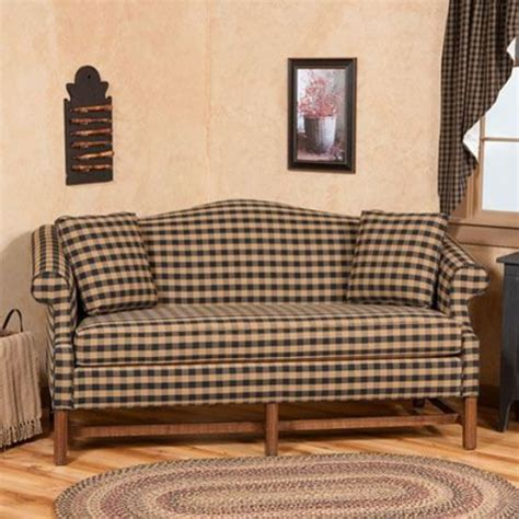 primitive sofa camelback sofa a classic design with a stylish touch